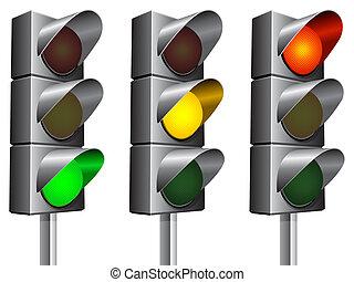 trafic, lights.