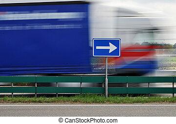 trafic, signe
