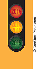 trafic, voeux, ligh, nouvel an