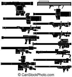 tragbar, luft, verteidigung, systeme