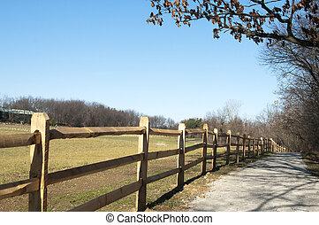 Trail in Ohio