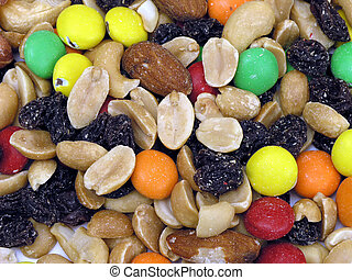 Trail Mix Background