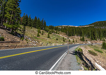 Trail Ridge Road at Hidden Valley Creek - Trail Ridge Road...