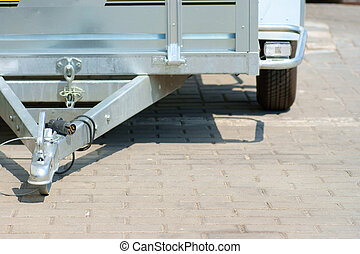 trailer tow bar, outdoor