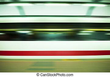 train., 速い