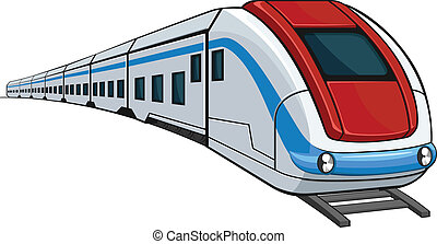 A vector image of a train. This vector is very good for design that needs transportation or travel element. Available as a Vector in EPS8 format that can be scaled to any size without loss of quality. Good for many uses & application. Elements could be separated for further editing. Color easily ...