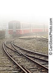 Train and railway