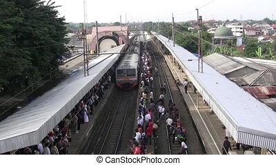 train, banlieusard