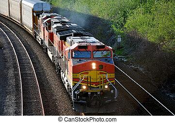 train., carga