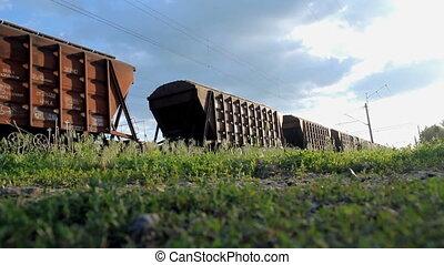 train cargaison, récupérations directes