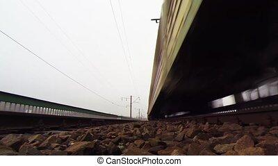 train cargaison, timelapse