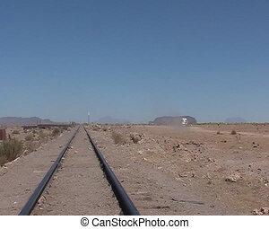 Train cemetery in Uyuni , Bolivia
