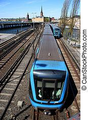 Train coming -...