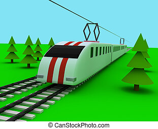 train, concept
