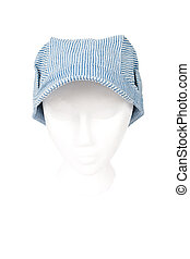 Train Engineer Hat Isolated with Clipping Path