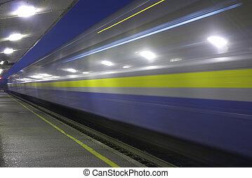 train, expédier