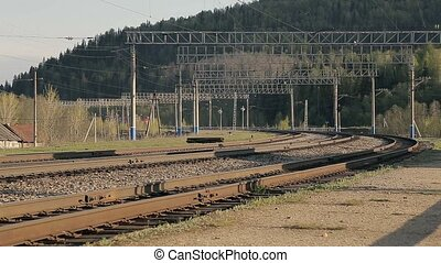 train ferroviaire, promenades