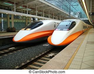 train grande vitesse, moderne