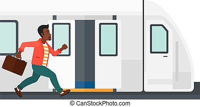 train., homme, disparu