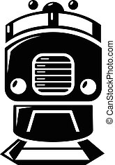 Train icon , simple style