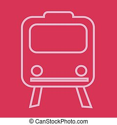 Train Icon ,  train,  transportation icon