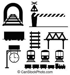 train icon vector illustration