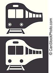 Train icon vector