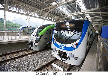 Train in south korea