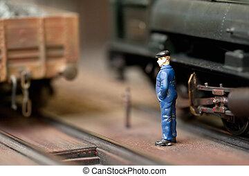train, ingénieur