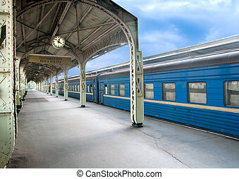 train is at the station