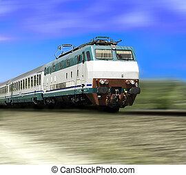 train Italian railway transit