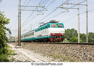 train Italian railway transit