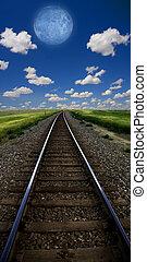 Train Line - Train Track Landscape