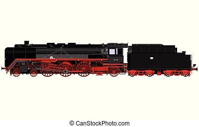 train locomotive transportation