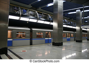 train, métro