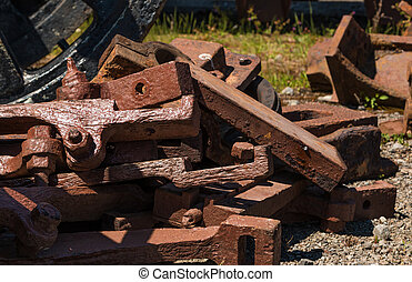 Train Metal Parts