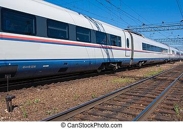 train, moderne