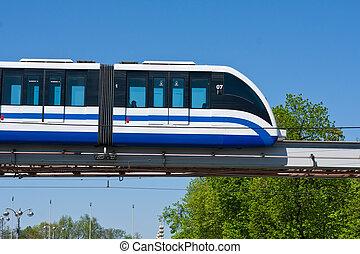train, monorail