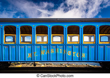 train, monter, ferroviaire, washington, dent
