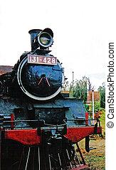 Train - Old fashioned steam train