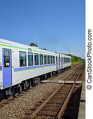 Train on the rail1
