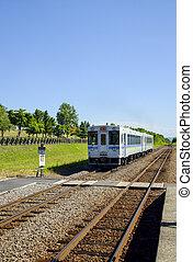 Train on the rail2