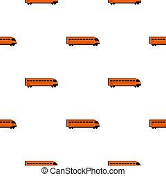 Train pattern flat