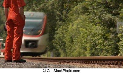 train, réparateur