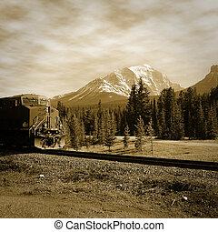 train., rakomány