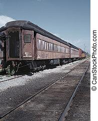 train, retro