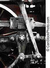 train, roue