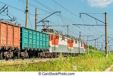 train, russie, fret