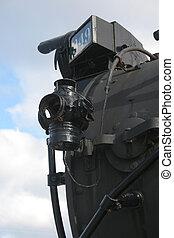 Train side light