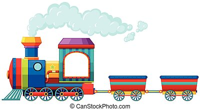 Train - Single train ride with no passenger